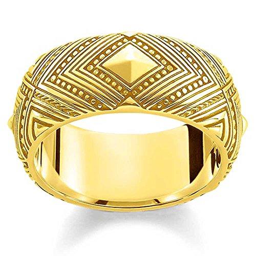 Thomas Sabo Glam and Soul TR2127-413-39-54 - Anillo decorativo chapado en oro
