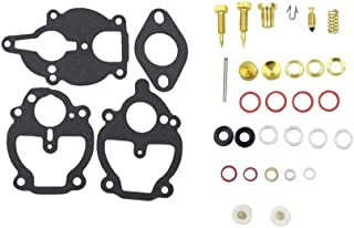 iFJF Carburetor Rebuild Kit with 3 Different Bowl Cover Gasket for Zenith Carb Ford 2N 8N 9N IH Farmall 100 130 140 200 230 240 330 404 A AV B BN C Super A Super C Cub Lo-Boy 184 Cub Lo-Boy 185