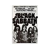 DIDIWEI Black Sabbath Poster dekorative Malerei Leinwand