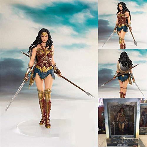 DC Justice League Wonder Woman Personaggio Animato Model Statue Articoli da Regalo -Birthday A