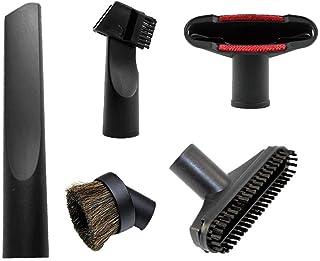 Cheelom Accesorios de reemplazo de aspiradora de 32 mm (1-1/4 pulg.) Universales Accesorios para cepillos, Kit flexible de...