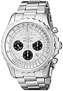 Breitling Men's A2336035-G718SS Chronospace automatic Silver Dial Watch image