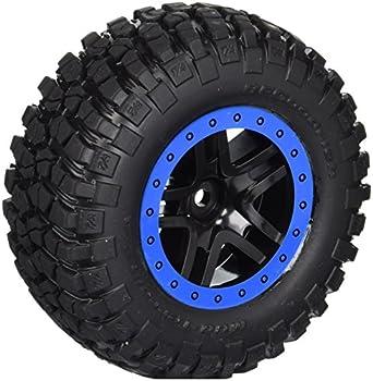 Traxxas 5883A BF Goodrich Mud Terrain Tires Pre-Glued on Split Spoke Wheels  Pair