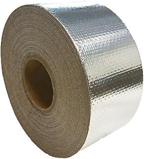 アルミガラスクロステープ/50mm×20M/強粘着/保温 保冷 耐熱 目地