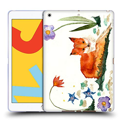 Official Wyanne Little Fox In The Garden Animals Soft Gel Case Compatible for Apple iPad 10.2 (2019)/(2020)