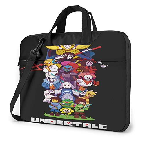 Undertale Sans Laptop Sleeve Bag 13/15 Inch Notebook Computer, Water Repellent Polyester Protective Case Cover Theme Design Laptop