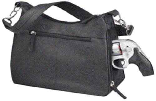 GTM Gun Tote n Mamas Concealed Carry Basic Hobo Handbag, Black, Smal