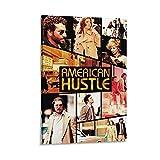 American Hustle Art Poster, dekoratives Gemälde, Leinwand,