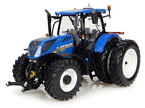 Universele hobbies – uh4962 – tractor – New Holland model t7.225 – blauw – schaal 1/32