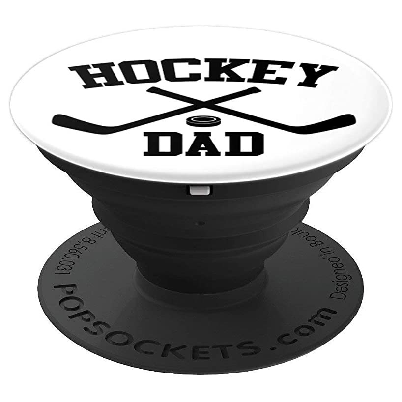 Ice-Hockey Pop-Socket Dad Men Birthday Christmas Gift - PopSockets Grip and Stand for Phones and Tablets