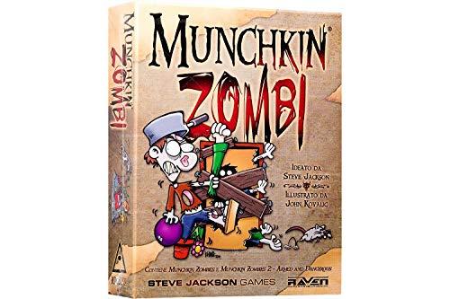 Raven Munchkin Zombi - Juego de Mesa