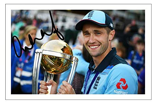 DW Chris Woakes - England 2019 Cricket World Cup Autograph Signed 6x4 Photo