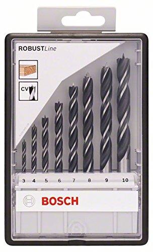 Bosch Pro 8tlg. Robust Line Holzspiralbohrer-Set - 2