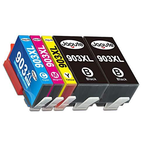 Jagute 903XL Patronen Kompatible für HP 903 XL 903XL Neueste Chip Druckerpatronen für HP Officejet Pro 6950 6960 6970, HP6950 HP6960 HP6970(2 Schwarz, 1 Cyan, 1 Magenta, 1 Gelb)