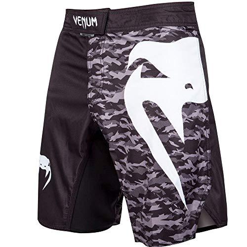 Venum Standard fightshorts, Black/Urban Camo, X-Small