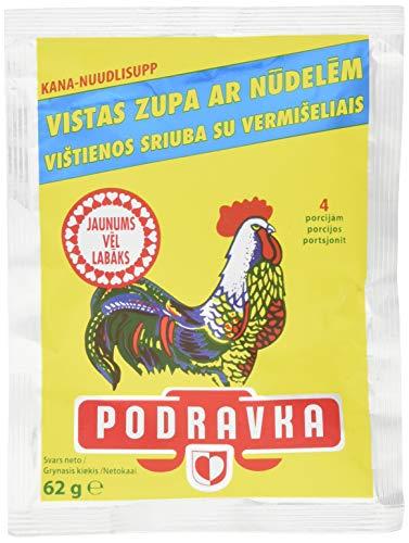 Podravka Hühnersuppe mit Nudeln, 5er Pack (5 x 62 g)