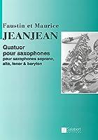 ジャンジャン : 四重奏曲 (サクソフォン四重奏) サルベール出版