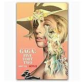 WXUEH Lady Gaga Five Foot Two 2017 Netflix Documenta Poster