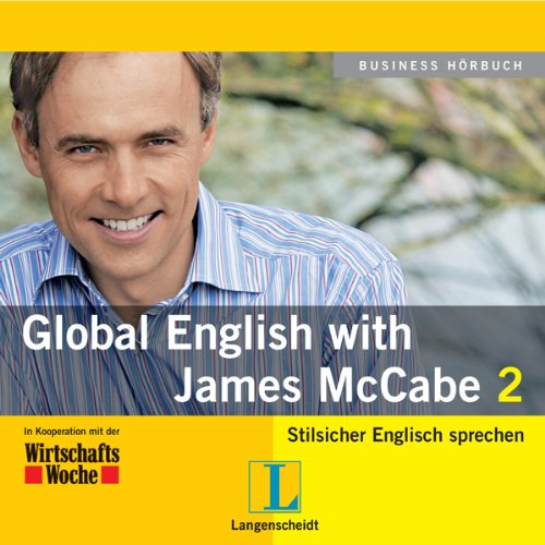 Langenscheidt Global English with James McCabe 2 Titelbild