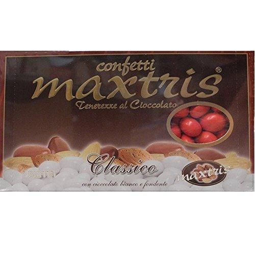 Confetti Maxtris classico rosso 1 kg