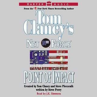 Tom Clancy's Net Force #5: Point of Impact audiobook cover art
