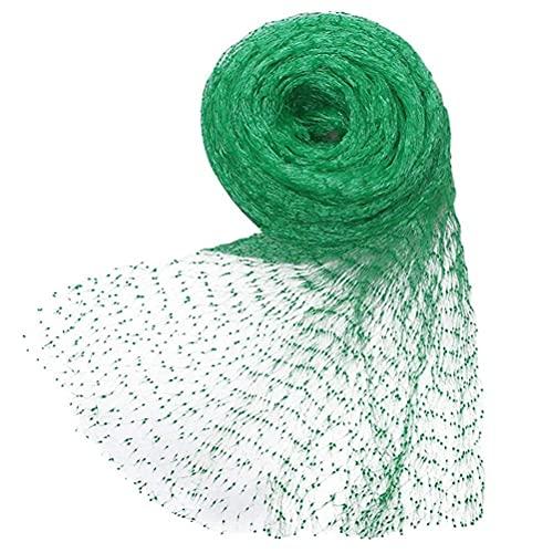 Lubudup Grünes Vogelnetz Teichnetz Baumnetz Für Pflanzenschutz Gartennetz Obstbaumnetz Erbsenetz Für Felder,Gemüsegärten,Blumentrog,Blumenbeete