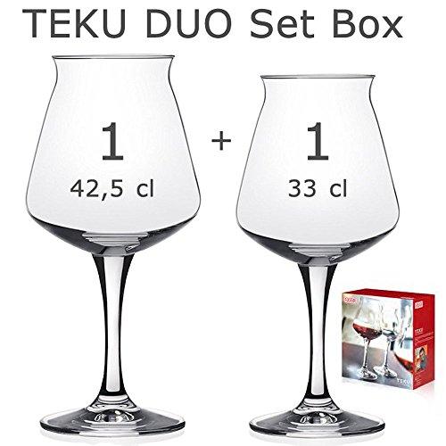 Rastal Teku Duo Set Box - Teku 42.5 cl & Teku Mini 33 cl