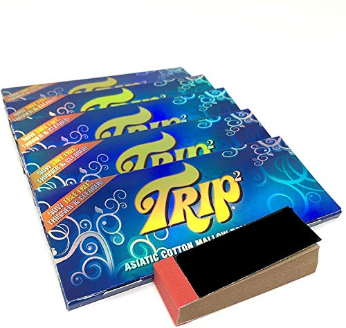 Trip2 Transparent Clear King Size Papers (5 Packs)