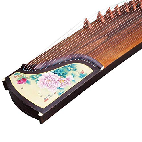 GuanXiao Tongmu Guzheng Chinesisches Traditionelles Klassisches Nationales Musikinstrument Professionelle Leistung Orientalisches Musikinstrument (Farbe : D)