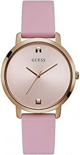 GUESS Womens Quartz Watch, Analog Display and Silicone Strap - W1210L3