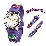 Reloj para Niños de Vinmori, Reloj de Cuarzo con Dibujos An