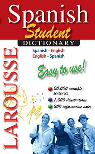 Larousse Student Dictionary Spanish-English/English-Spanish (Spanish and English Edition)