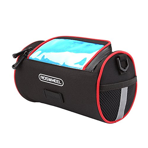 ROSWHEEL Multifonction Sac Sacoche de Selle Arrière Case Carry Bag Pouch Pochette Vélo VTT Bike Cycling Pour Cyclisme, Voyage,...