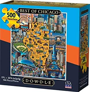 Dowdle Jigsaw Puzzle - Best of Chicago - 500 Piece