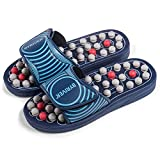 BYRIVER Acupuncture Massage Slippers Sandals Shoes, Circulation Foot Calf Leg Massager, Neuropathy Arthritis Plantar Fasciitis Pain Relief, Mothers Day Gift for mom dad(05S)