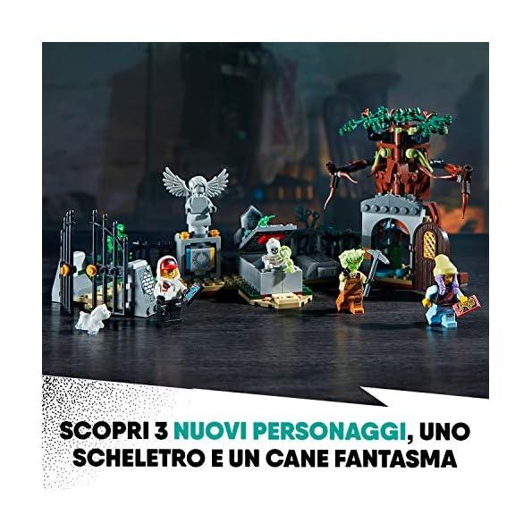 LEGO-Hidden-Side-Mistero-nel-Cimitero-Set-di-Costruzione-Set-per-la-Realt-Aumentata-per-iPhoneAndroid-70420