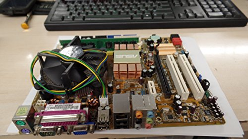 ASUS P5KPL-cm Intel G31 Express/Intel ICH7 LGA 775 Micro ATX Motherboard (Renewed)