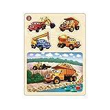 Dino Toys 644038 Tatra - Puzzle de madera (13 unidades)