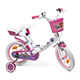 Pat' Patrouille Bicicleta Infantil, Niños, Multicolor, 14 Pulgadas