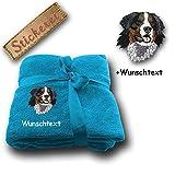 Spetebo–Manta Manta perro Boyero de Berna M1+ personalizado Texto a elegir