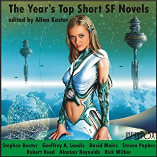 The Year's Top Short SF Novels audiobook cover art
