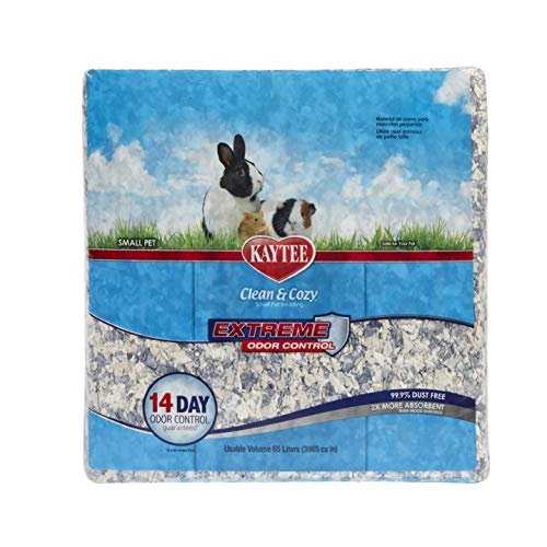 Kaytee Clean and Cozy Super Absorbent Paper Bedding, Extreme Odour Control,...