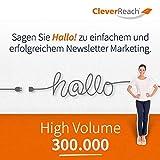 CleverReach Newsletter Software, Email Marketing Automation, High Volume Tarif 300.000, Web Browser, Monatliches Abonnement -