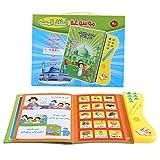 Livre D'apprentissage Enfants Jouet Educatif Electronique Toucher et Apprendre La Langue Arabe Jouets Lecture Multi-Fonctionnelle Jeux Cognitifs pour Enfants