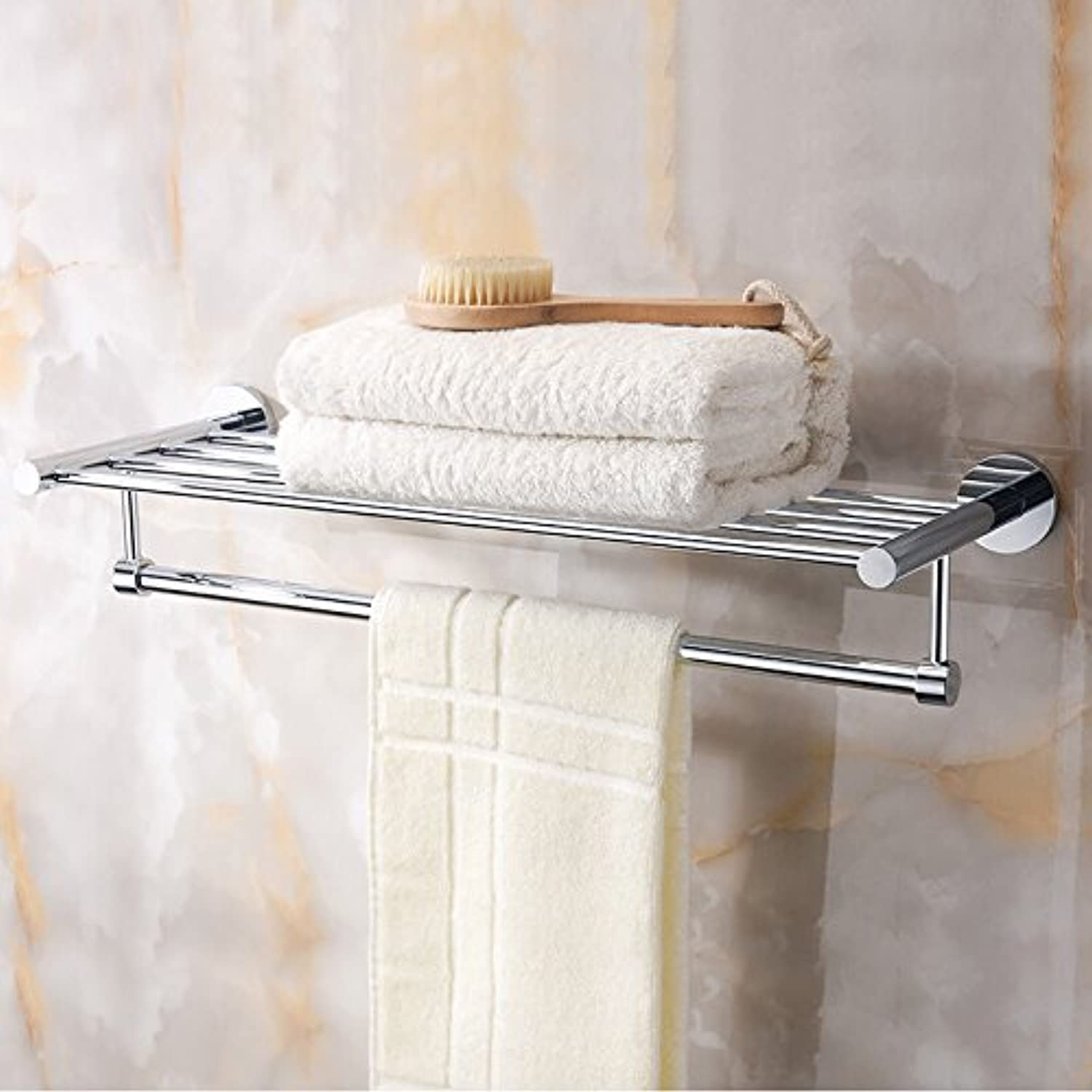 Hardwareh Bathroom Hanger, Copper Towel Rack, Towel Rack and Towel Bar Toilet,3322 (-) Modern Simple and Durable Home Decoration Classic Quality Assurance