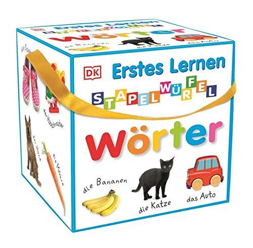 Erstes Lernen - Stapelwürfel Wörter: 10 stabile Karton-Würfel ab 1 Jahr mit tollen Fotos zum Spielen, Entdecken und Benennen