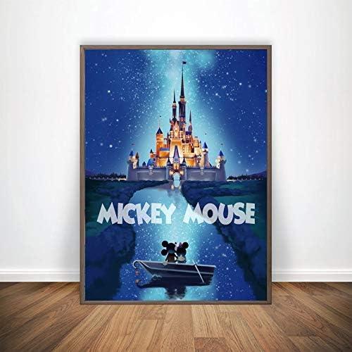 Mickey Me Print 完全送料無料 Mouse Wall Disney Gif Art Design 定価 Cstle