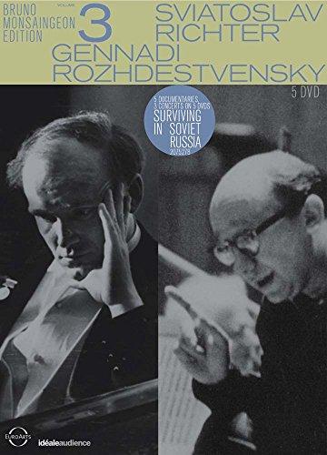 Bruno Monsaingeon Edition Vol. 3 - Sviatoslav Richter / Gennadi Rozhdestvensky [5 DVDs]