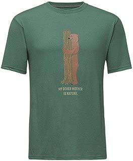 The North Face Men s Short Sleeve Bottle Source Novelty Tee Smoke Pine Cargo Khaki S