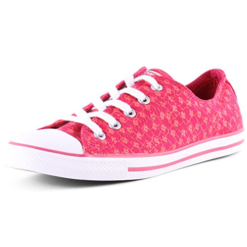 Converse Chucks 547148C Chuck Taylor All Star Dainty Animal Floral Print Berry Pink, Groesse:37 EU / 4 UK / 6 US / 23.5 cm